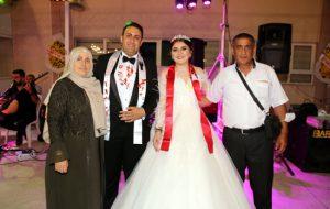 Büşra ile Halil İbrahim evlendi