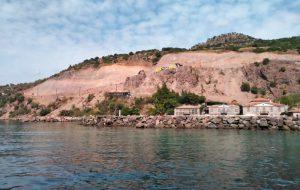 Assos'taki çalışmalar tepki ve tartışma yarattı